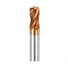 安田 55°四刃波纹硬质合金粗皮铣刀 金色涂层高硬度厂家现货