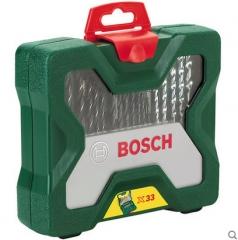 Bosch博世33支手电钻钻头批头组合套装金属麻花木工冲击钻头