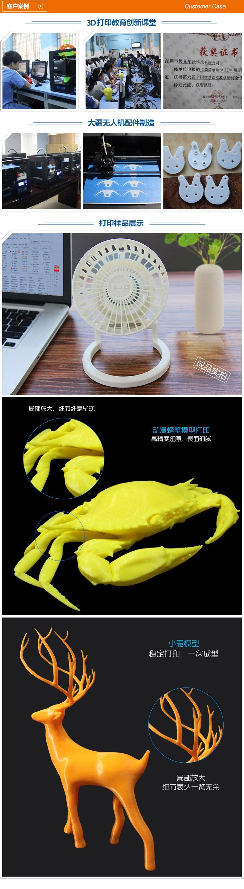 3D打印机厂家的客户案例