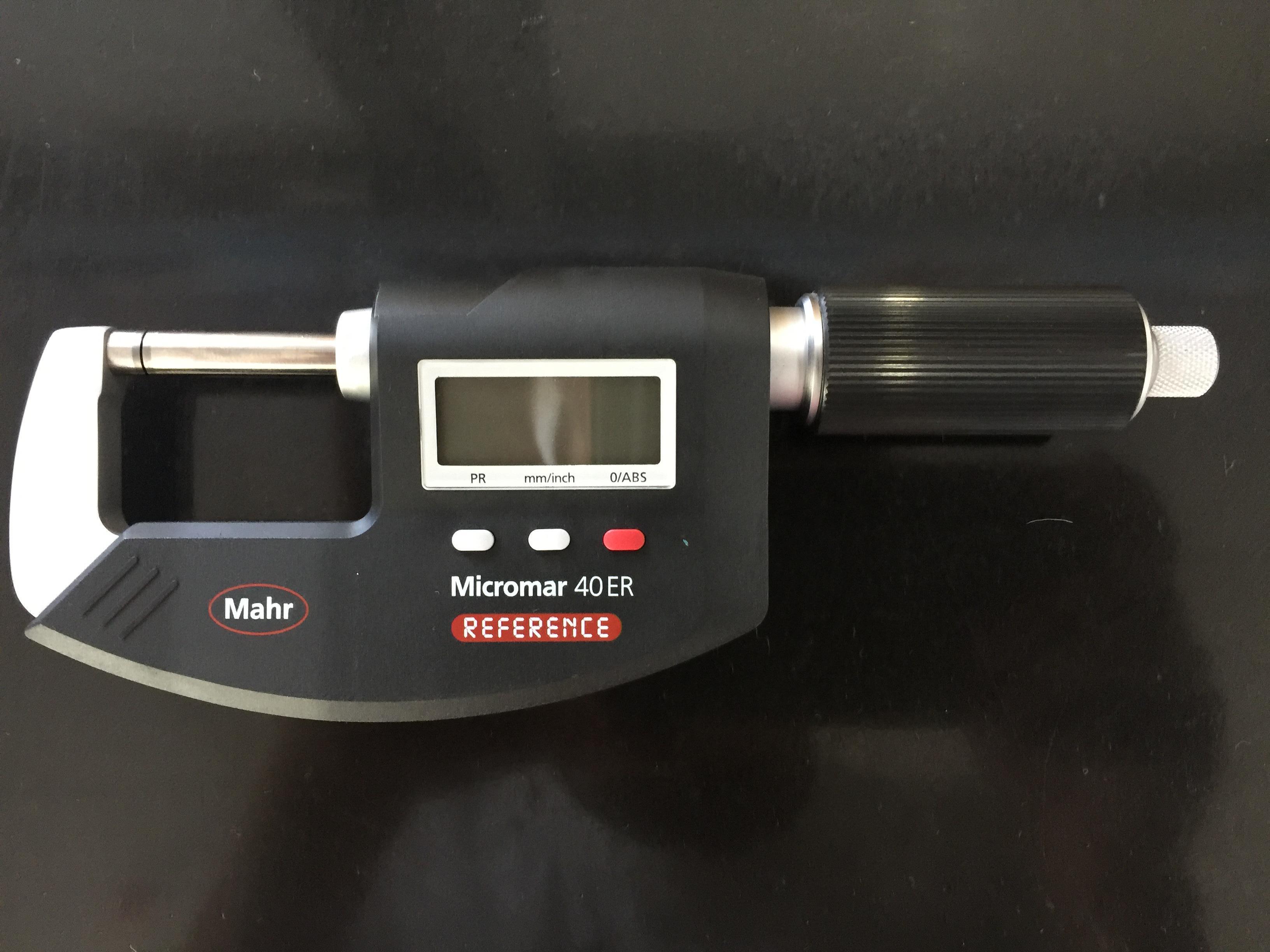 德国Mahr 数显千分尺 0-25mm数显千分尺 40ER 数显千分尺