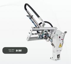 注塑机机械手,斜臂式机械手,旋臂机械手。