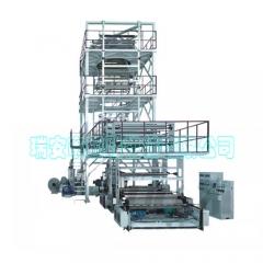 国联吹膜机 塑料吹膜机 薄膜吹膜机 三层共挤吹膜机 吹膜机