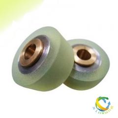 厂家定做轴承包胶 铁芯包胶 橡胶辊 印刷机胶滚 耐磨胶辊