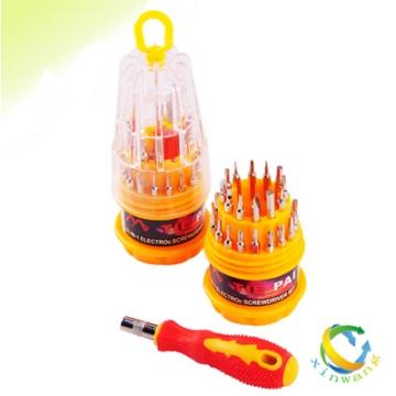9.9包邮宝塔型万能螺丝刀 31合一手动组合螺丝刀起子工具套装31PC