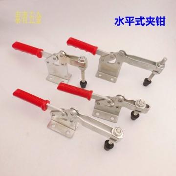 【热销】焊接夹具 水平式快速夹具 压紧夹具焊接工装夹具200W五金工具