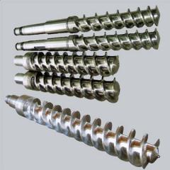 新品热销,销钉冷喂料橡胶机筒螺杆,螺杆-东莞市有田塑胶机械有限公司