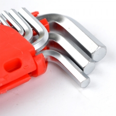 供应内六角扳手 优质铬钒钢亚光多规格内六角扳手 五金工具