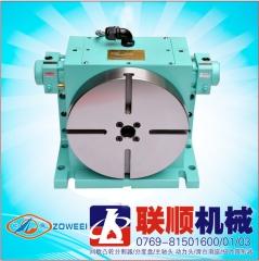 台湾HCTV-255H油压齿式数控电动自动分度盘/转台转盘-联顺机械厂家供应