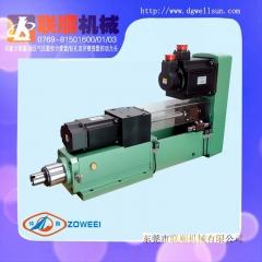 主轴头生产厂家批发台湾仲为NC8-200A全伺服数控钻孔攻牙动力头-东莞市联顺机械有限公司