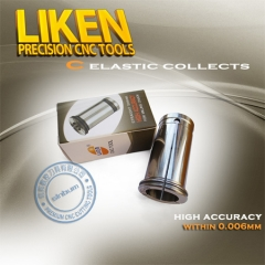 品牌特卖,LIKEN 力肯高精密弹簧夹头,筒夹C型-东莞市信邦数控刀具有限公司