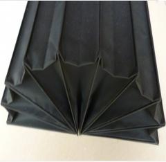 专业生产柔性 风琴导轨护罩 可订做品种齐全质量可靠价格低廉