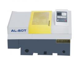 AL50T数控车床 最大加工直径Φ500mm三角形式Z向滑板Z向行程750