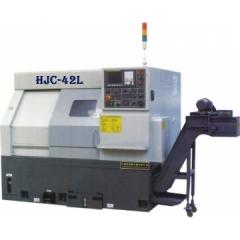HJC-42L数控车床 30°整体斜床身结构 法拉科系统 最大回转直径500