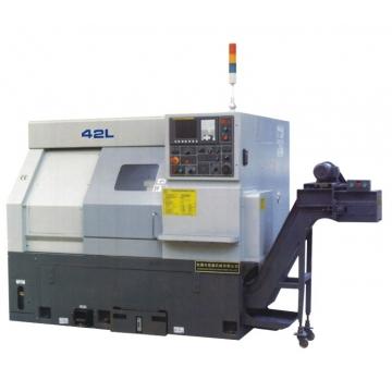 厂家提供 斜床身刀塔数控机床 HJ-42L/52L系列数控机床