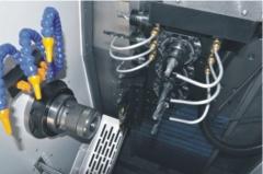 厂家提供 多功能车铣复合中心 HJ-40系列车铣复合中心