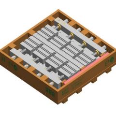 最新研发铝件 铜公电极加工用数控夹具 一次能装夹24个【可订制】