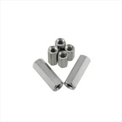 正宗304不锈钢加长六角螺母 螺杆连接母 丝杆接头螺帽M4-M30