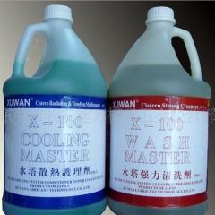 X-100水塔散热护理剂_浓缩水塔清洗散热剂  厂家直销