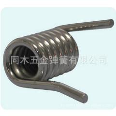 扭簧/扭力弹簧/双扭脚弹簧/夹具弹簧/饰品弹簧/琴钢线弹簧