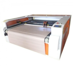 成衣布料激光开料裁床机大幅面激光切割设备,切割设备-东莞市韵勒机械有限公司