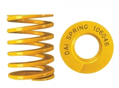 专业生产各种精密模具弹簧-大同黄色弹簧,达川五金