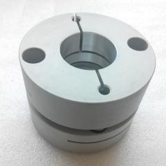 铝合金弹性单膜片/双膜片联轴器/伺服电机专用/现货夹紧 94mm