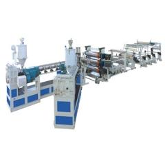 双机螺杆板材挤出机,ABS箱包板材挤出设备,板材机,东莞市华锋模具机械有限公司