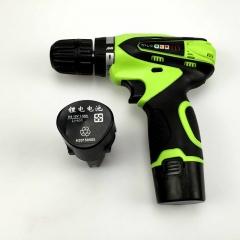 锂电充电电钻多功能家用电动螺丝刀电动工具手枪钻双电池