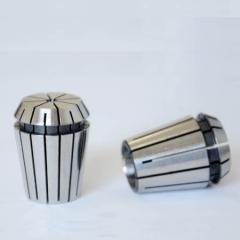 【热销】银球ER20筒夹 (精度0.015mm)弹性夹头,夹持范围3-13mm 筒夹价格实惠