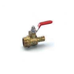 气管接头,球阀外螺,红色小 铜阀,气动液压铜,气动元件-东莞市长安东辰气动液压元件经营部