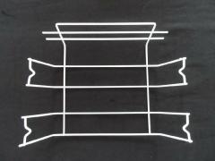 供应五金电器 层架 防护网 烤网烤架 钢丝线材焊接制品 冰箱层架 冷柜层架12