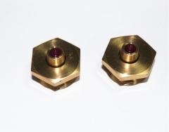 厂家销售中走丝线切割机附件、全红宝石芯导丝嘴、红宝石导丝水嘴