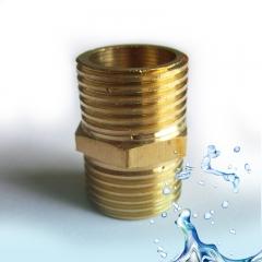 供应净水器配件,通用五金配件接头黄铜4分两通外牙