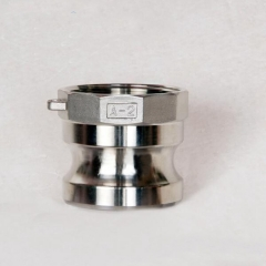 厂家大批量供应 304不锈钢快速接头 A型精铸接头 通用五金配件