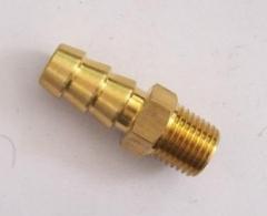 插管式软管快接头黄铜水咀东莞天翔五金模具配件可加长定制批零售