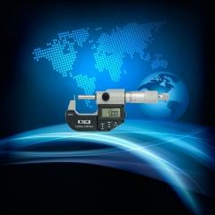 代理供应:青海量具刃具集团230-71-340电子腰鼓壁厚千分尺0-25mm
