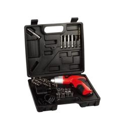 【厂家批发】电动工具批发家用45件套充电钻4.8V充电钻,两用电动螺丝刀 电钻