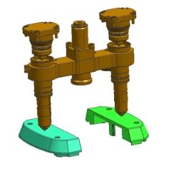 专业生产大型热嘴模具,大水口模具,塑胶模具-东莞市讯奇塑胶有限公司