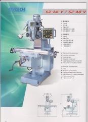 专业高品质 首钻铣床SZ-A8-V-VS 铣床厂家