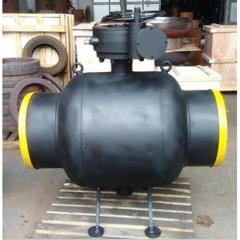 齿轮传动固定式全焊接球阀BAQ367PPL-16C