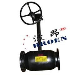 齿轮法兰长杆全焊接球阀 波昂品牌