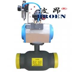 气动全焊接球阀 BAQ661ppl-16c