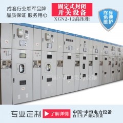 XGN2-12固定式金属封闭开关设备质量售后无忧