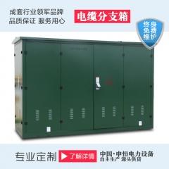 浙江厂家直销DFW-12冷轧钢板材质欧式电缆分支箱
