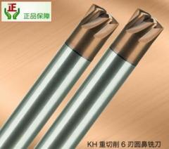 【供应】韩国KOOLEE钨钢铣刀 开粗重切削6刃圆鼻铣刀 高速CNC数控刀具批发