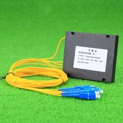 光纤分路器 插片式光分路器 1分4PLC插片式光分路器
