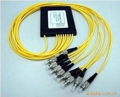 FC/APC 1分4分光器PLC光分路器广电有线电视
