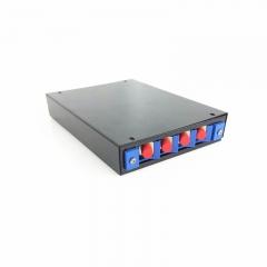 电信级4口SC光纤终端盒满配光纤机架接线保护盒