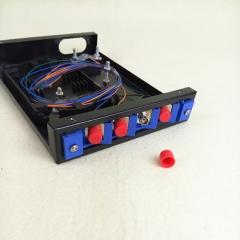 4口4芯光纤光缆出尾纤终端盒熔接盒光纤盒