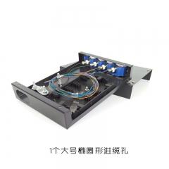 4/6/8口光纤终端盒 ST,FC,SC,LC墙壁装光纤终端盒